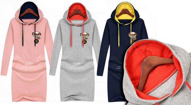 f4630ee805b9 Perfektné teplákové šaty - buďte výnimočná!
