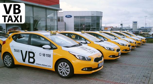 Kredit na služby VB Taxi na jazdy bez hotovosti!