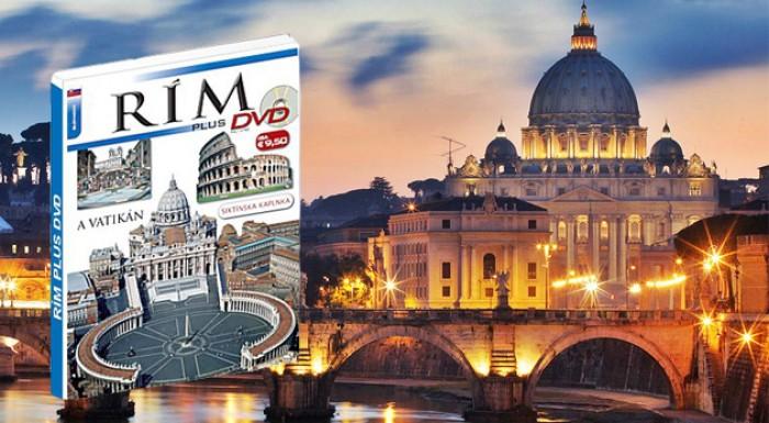 Nádherná kniha a DVD o Ríme. Bonus - 7 zľavových kupónov na pobyt v  apartmánoch 0af7bc27051