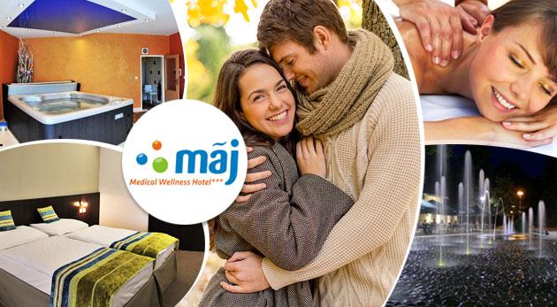 Wellness pobyt plný relaxu v Hoteli Máj v Piešťanoch pre dvoch na 3 alebo 6 dní