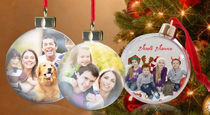 Vianočné gule s vlastnou fotografiou  e58e87da9b9