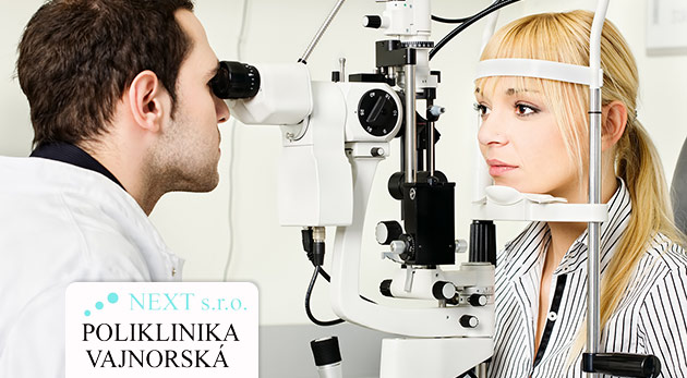 43a1660fa Kompletné očné vyšetrenie najmodernejšími prístrojmi v Poliklinike Vajnorská