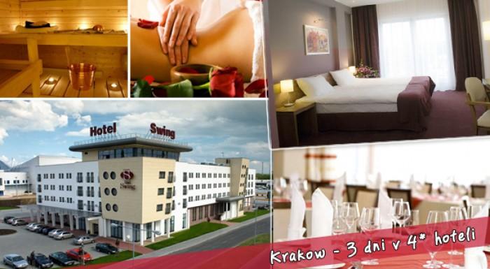 Fotka zľavy: Krakow - 3 dni v štvorhviezdičkovom hoteli! Užite si Kráľovské mesto s romantickou večerou, plus vodný park a wellness na každý deň!