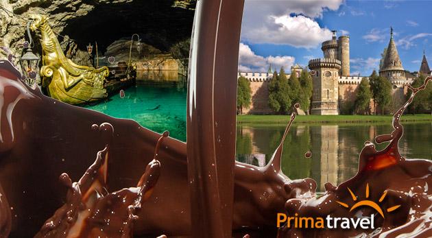 """Návšteva čokoládovne Hauswirth a vodného zámku cisárovnej """"Sissi"""" v Laxenburgu"""