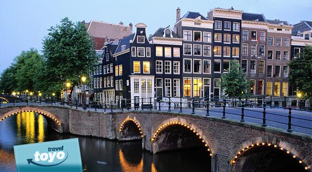Návšteva krásneho Amsterdamu a skanzenu Zaanse Schans s dopravou a ubytovaním