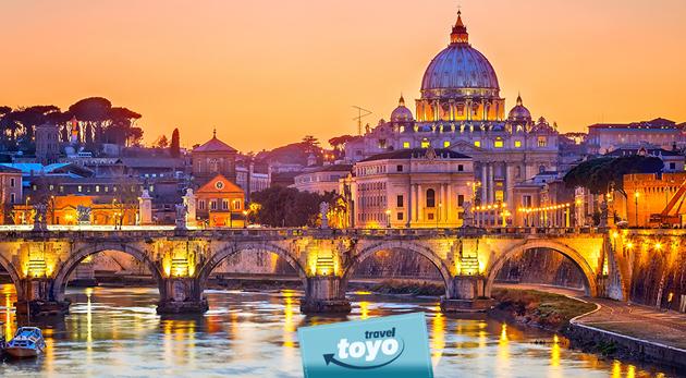 Nezabudnuteľný 5-dňový zájazd do najkrajších talianskych miest - historický Rím a romantické Benátky