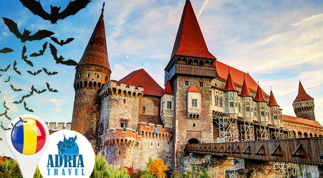 Skvelý 5-dňový dobrodružno-poznávací zájazd do tajomnej Transylvánie