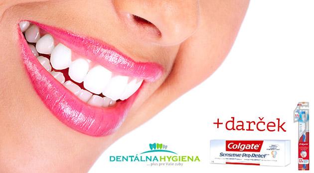 Ambulantné bielenie zubov v centre Dentálna hygiena plus v Eurovea