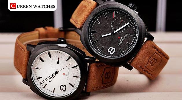 cf4d1c64a Pánske hodinky značky Curren s bielym ciferníkom za 10,99 € vrátane  poštovného a balného