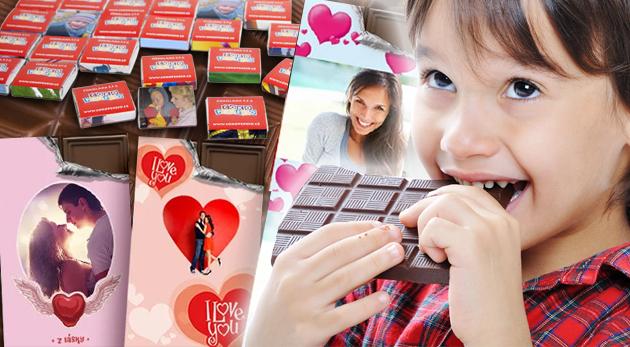 Sladké pokušenie v podobe belgickej čokolády alebo 18-dielneho čokopexesa s vlastnou potlačou