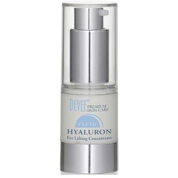 Očný lifting Devee Hyaluron Fluid (15 ml) + vzorka Hyaluron sérum ako darček