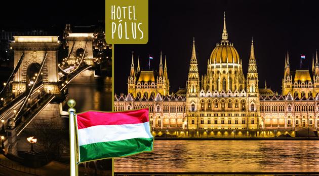 Maďarská metropola na 3 alebo 4 dni - Hotel Pólus*** s raňajkami, welcome drinkom a neobmedzeným bazénom a fitness
