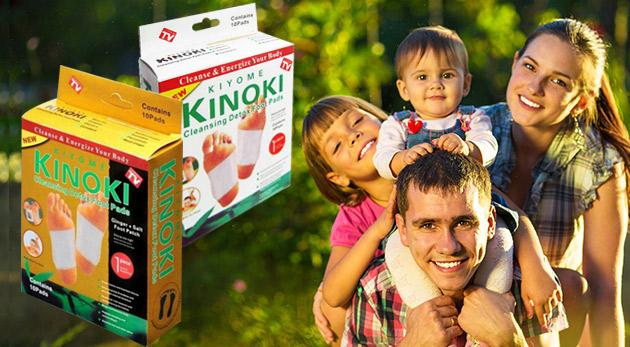 Detoxikačné náplaste KINOKI - očistite svoje telo od škodlivín