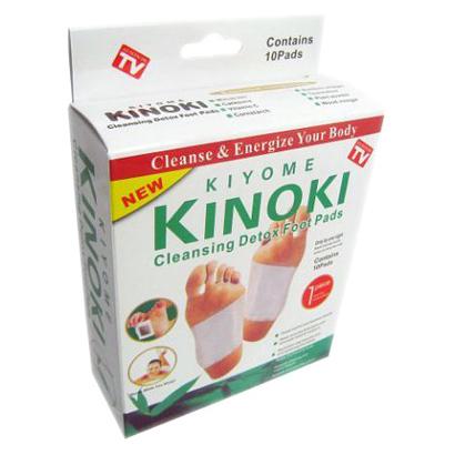 Detoxikačné náplaste KINOKI (1 balenie, 10 kusov)