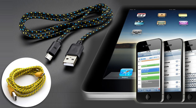 Nabíjací kábel pre váš mobilný telefón alebo tablet