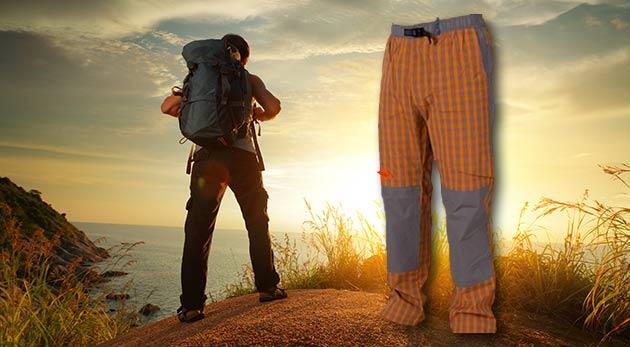 Komfortné pánske nohavice Neverest na šport, turistiku i voľný čas