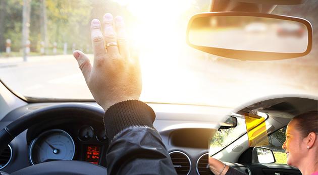 Nočná a denná clona do auta pre väčší komfort z jazdy