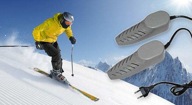 Elektronický sušič topánok alebo lyžiarok za 10,99€ (vrátane poštovného)