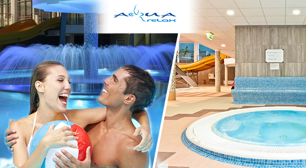3-hod. vstup do Vodného sveta a plaveckého bazénu areálu AquaRelax pre 1 dospelú osobu za 7,20 €