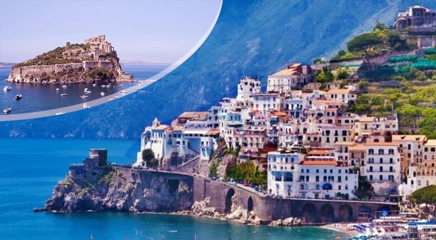 Čarovné kúty Talianska počas 5-dňového zájazdu s CK Prima Travel - termálny ostrov Ischia, pobrežie Amalfi a ostrov Procida