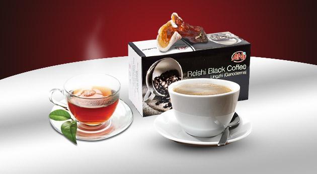 Čierna káva s reishi  (20 sáčkov x 3 g) za 10,80 €