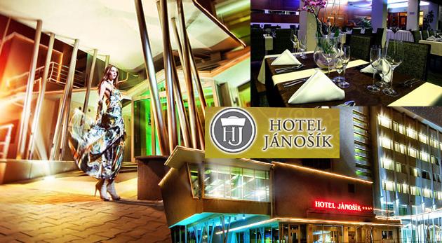 Pobyt v komforte Hotela Jánošík**** na Liptove