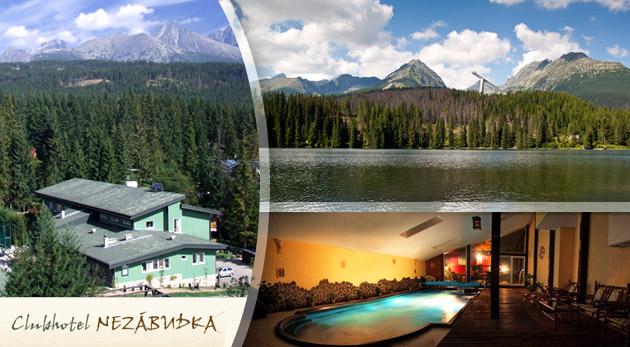 4 alebo 5 dní v Tatranskej Štrbe. Rodinná či romantická dovolenka pre každého.