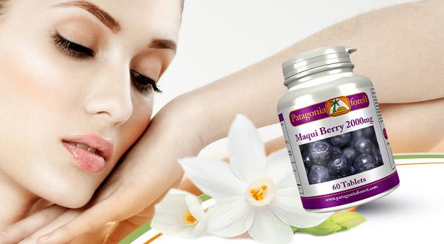 60 tabliet Maqui Berry plné antioxidantov