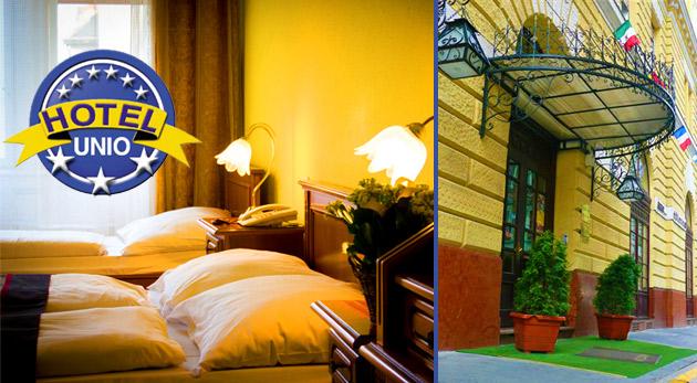 Strávte 3 dni vo dvojici v centre Budapešti v komfortnom City Hotel Unio***