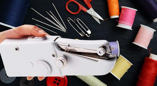 Kompaktný ručný šijací stroj Handy Stitch