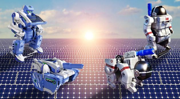 Solárne stavebnice pre malých i veľkých - oboznámte deti s fyzikálnymi zákonmi zábavnou formou