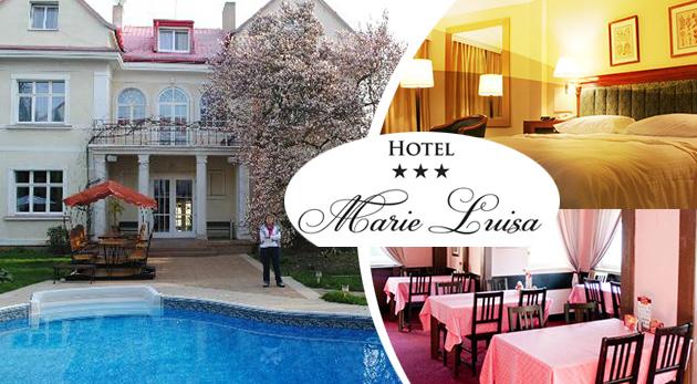 Fascinujúca česká metropola a pohodlie rodinného Hotela Marie Luisa