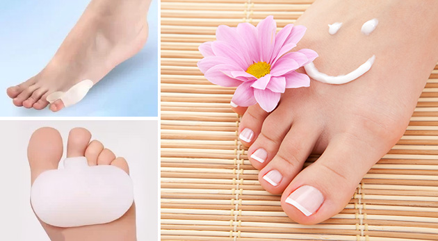 Ortopedické pomôcky na malíček alebo na nohu proti otlakom či pľuzgierom