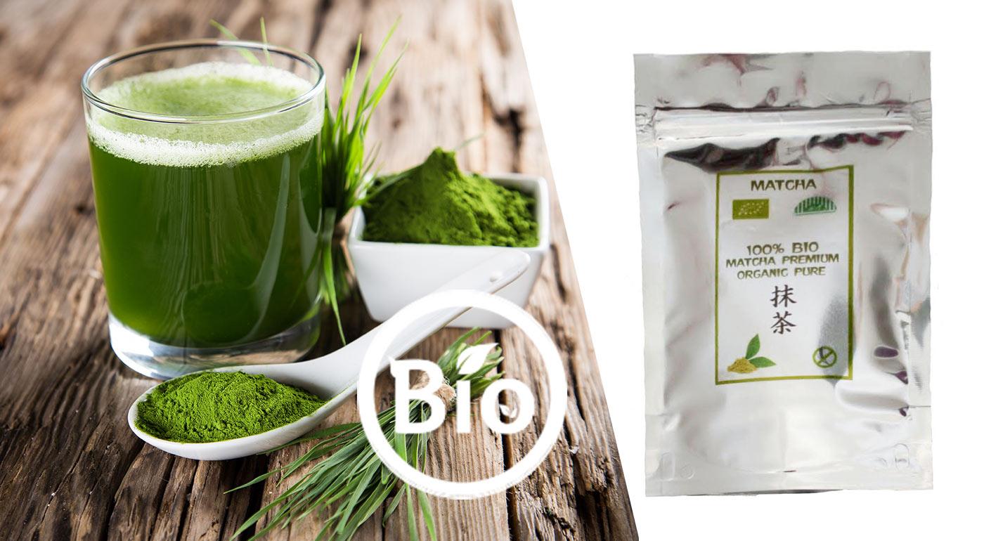 Zelený japonský čaj 100 % BIO MATCHA premium organic pure s výnimočnými účinkami pre vaše zdravie