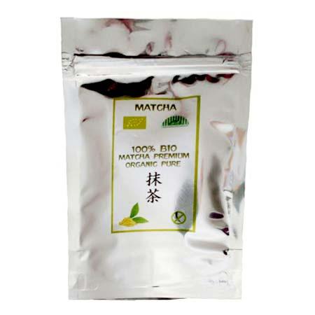 Zelený japonský čaj 100% BIO MATCHA premium organic pure - 30 g balenie + 20% navyše vrátane poštovného a balného v rámci SR