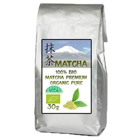 Zelený japonský čaj 100% BIO MATCHA premium organic pure - 30 g balenie