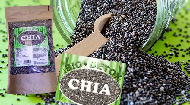 Chia semienka pre správne fungovanie vášho organizmu