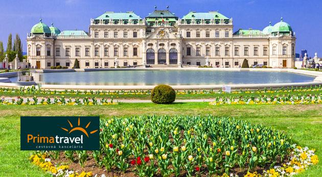 Celodenný zájazd do Viedne plný histórie s návštevou najkrajších zámkov