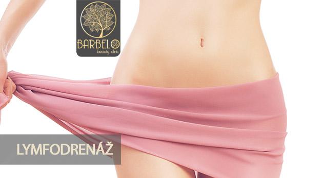 Celotelová lymfodrenáž v Barbelo Beauty Clinic na 30 alebo 45 minút