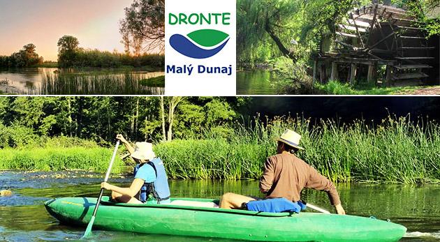 Splav Malého Dunaja na kanoe alebo katamaráne - na výber rôzne trasy