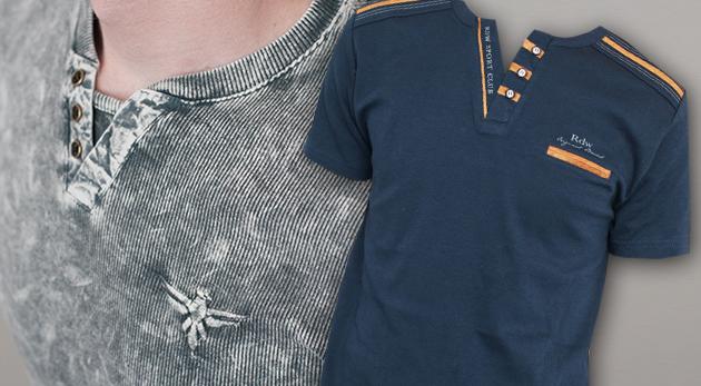6884e0af0bc6 Pánske značkové tričká Redway