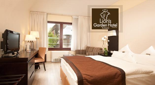 Užite si tri dni v Budapešti v komfortnom Lion´s Garden Hotel**** s voľným vstupom do wellness