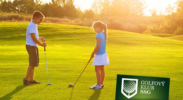 Letný golfový tábor pre deti od 4 do 12 rokov v Bratislave