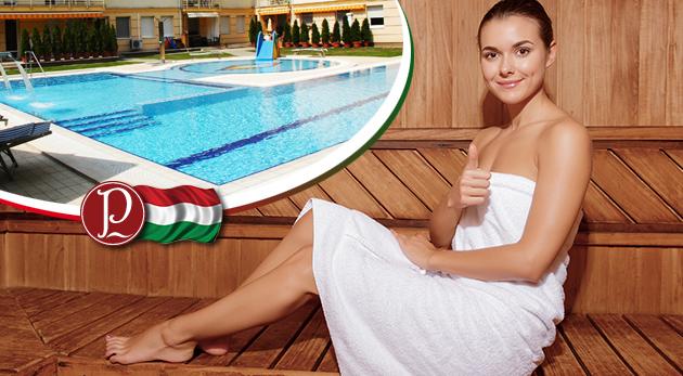 Známe maďarské kúpele Panoráma Pegazus Vendégház s polpenziou a voľným vstupom do wellness