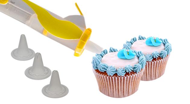 Cukrárske zdobiace pero pre gazdinky