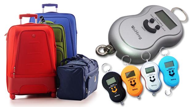 Digitálna cestovná prenosná váha