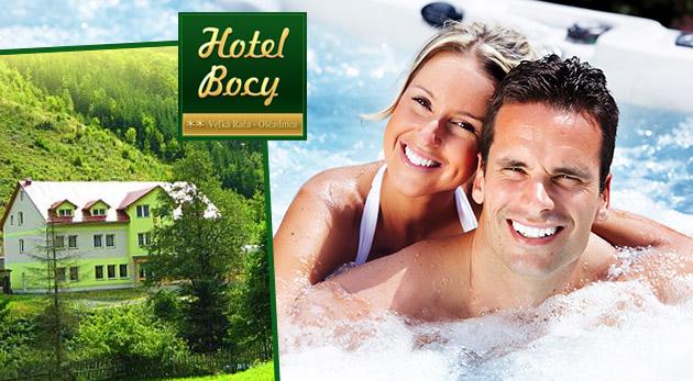 Hotel Bocy** v Oščadnici s raňajkami alebo polpenziou, vírivkou, biliardom a množstvom iných aktivít
