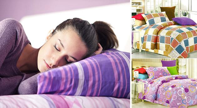Krepové posteľné obliečky - na výber 13 vzorov