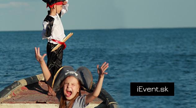 Letný denný tábor Mladí piráti na lodi Tanker v centre mesta na týždeň