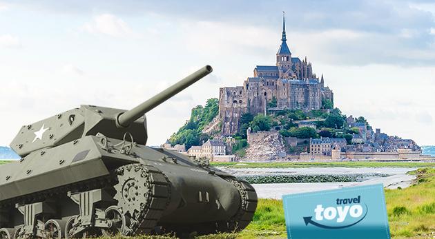 Šesť dní v Normandii a Bretónsku s CK Toyo travel